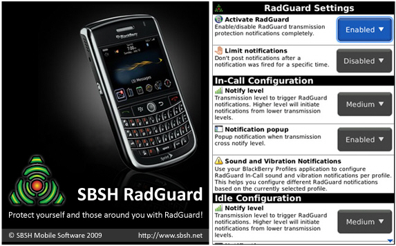 RadGuard for BlackBerry