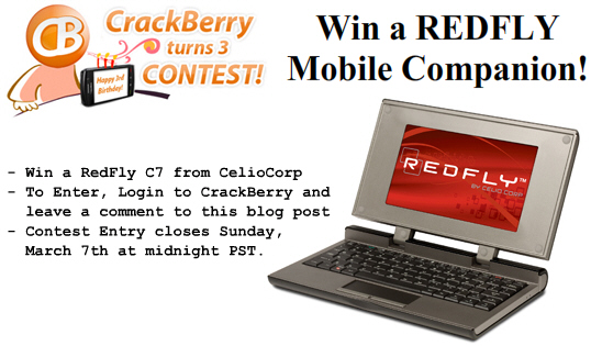 Win a RedFly Mobile Companion!