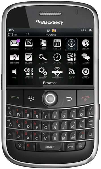 Reflex 2.0 Zen Theme for the BlackBerry Bold