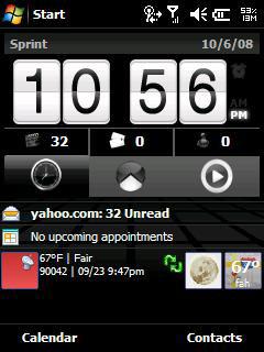 HTC Homescreen