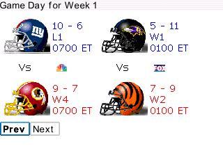 NFL Gameday
