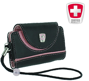 Swiss Mobility Lara Side Pouch for the BlackBerry Pearl Series