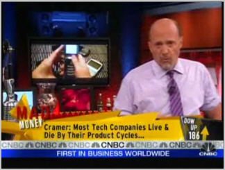 Jim Cramer on Research in Motion Stock!