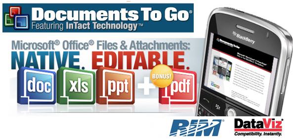 DataViz acquired by RIM