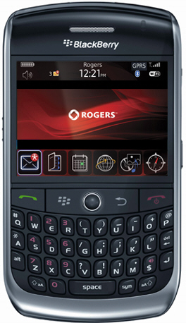 Rogers BlackBerry Curve 8900