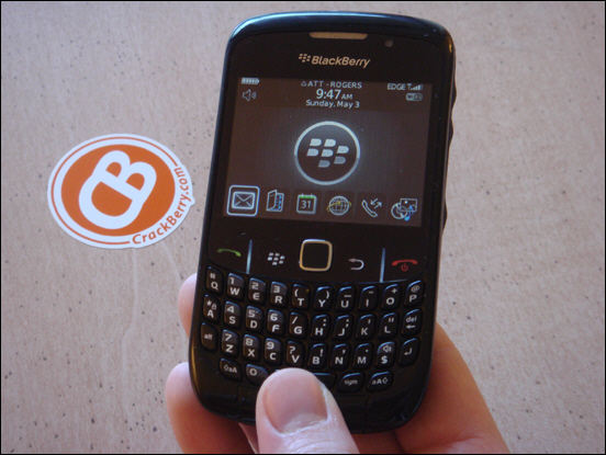 A First Hands-On Look at the BlackBerry Curve 8520