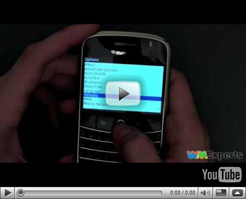 Dieter Bohn on the BlackBerry Bold!