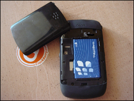 1150mAh battery. Media card inserts and removes easily