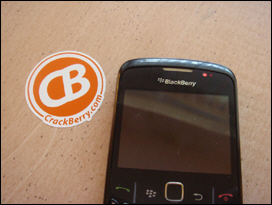 The BlackBerry Curve 8520 has two notification lights