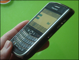 A great all around device - bigger than Curve 8330, smaller than 8830 and features great hardware components.
