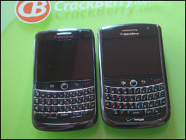 BlackBerry onyx 9020 on the left, Tour 9630 on the right. The new kings of the non-touchscreen smartphone game.