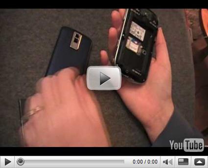 Jennifer Chappell on the BlackBerry Bold!