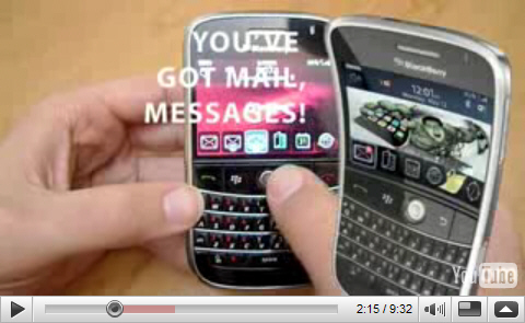 TheiPhoneBlog goes BlackBerry Bold!