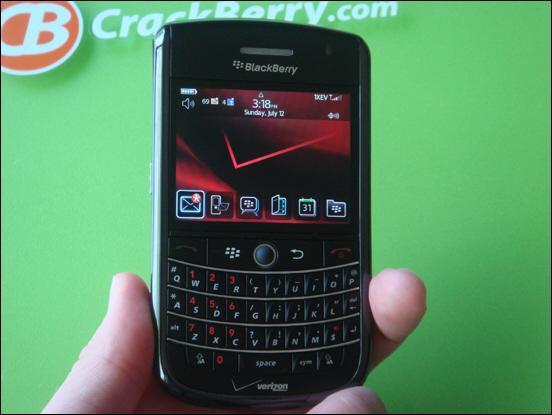 BlackBerry Tour Photo Gallery