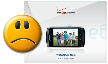 Verizon's BlackBerry Storm