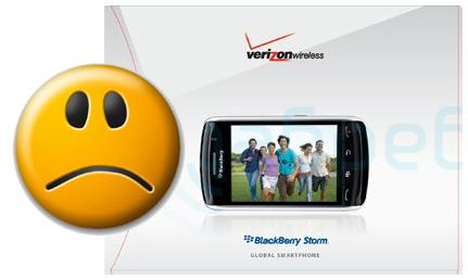 Verizon's BlackBerry Storm