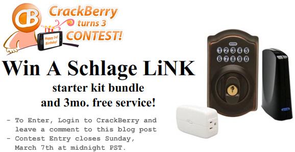 Win a Schlage LiNK!