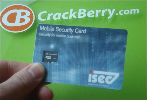 SecureCard for BlackBerry