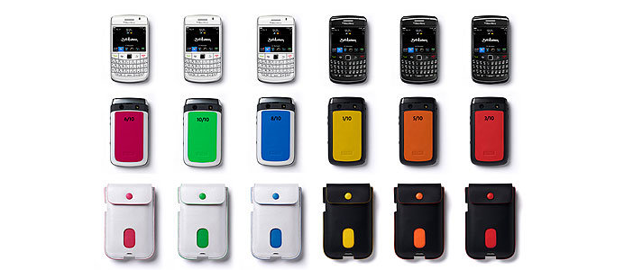 Limited Edition BlackBerry Bold 970 from Selfridges