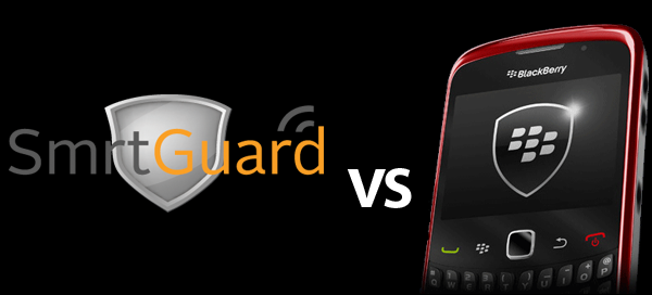 SmrtGuard vs. BlackBerry Protect