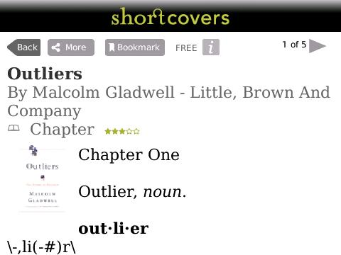 Shortcovers