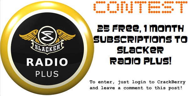 Slacker Contest!