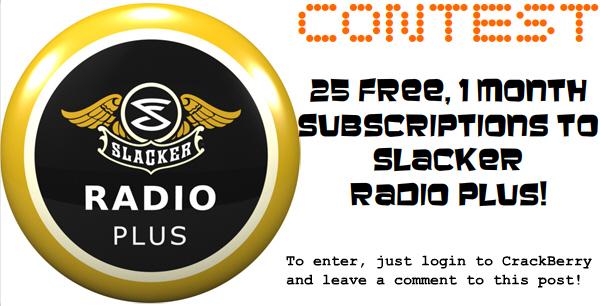 Slacker Contest!