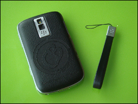 You may not have realized your BlackBerry Bold had a spot to attach a lanyard.