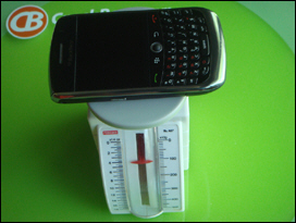 BlackBerry Curve 8900.