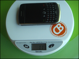 BlackBerry Curve 8900.