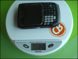 BlackBerry 8700.