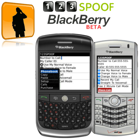 Spoof for BlackBerry Beta