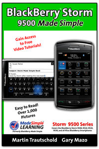 BlackBerry Storm Made Simple