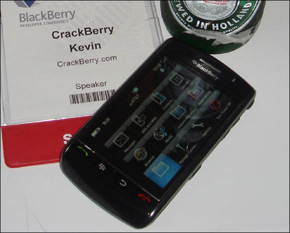 BlackBerry Storm Hands On First Impressions