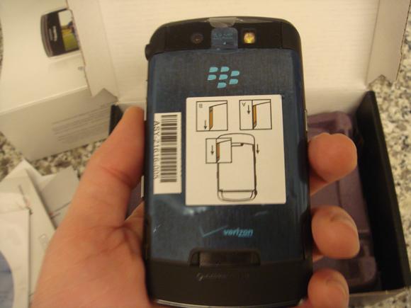 Verizon BlackBerry Storm 9530 Unboxing!!!