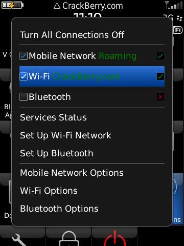 BlackBerry Storm2 WiFi