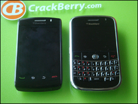 BlackBerry Storm2; BlackBerry Bold.