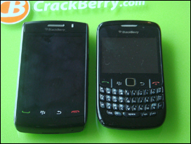 BlackBerry Storm2; BlackBerry Curve 8520.