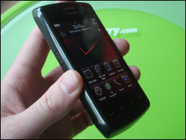 The BlackBerry Storm2 looks good from every angle.