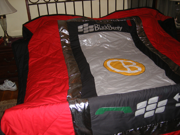 BlackBerry Storm Quilt