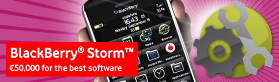 BlackBerry Storm Developer Competition