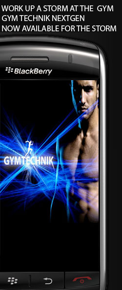 Gym Technik Now on BlackBerry Storm