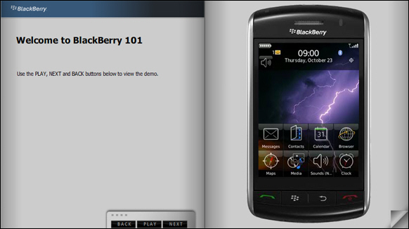 BlackBerry Storm BlackBerry 101