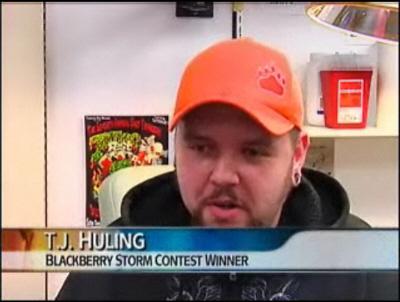 Storm Contest Winner interviewed on NBC