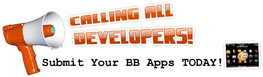 Submit your Apps to the BlackBerry App Store!
