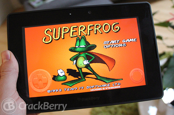 Amiga Classics come to the BlackBerry PlayBook and BlackBerry 10