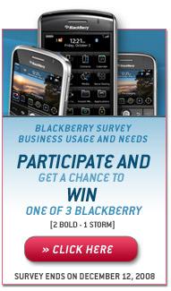 BlackBerry Survey