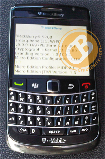 T-Mobile BlackBerry 9700