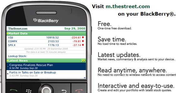 The Street Goes BlackBerry