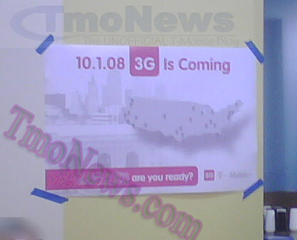 3G Coming to T-Mobile October 1st?